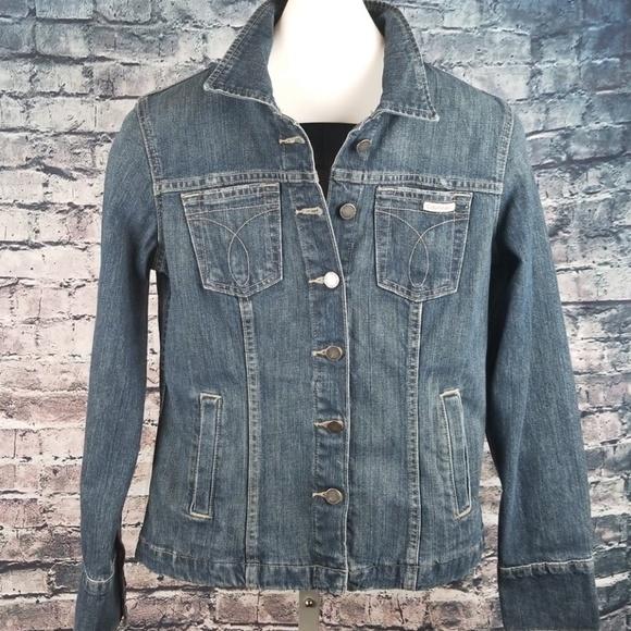 Calvin Klein Jeans Jackets & Blazers - Calvin Klein Fitted Denim Jacket, Ladies Medium